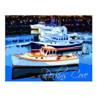 Perkins Cove Ogunquit Maine Postcard