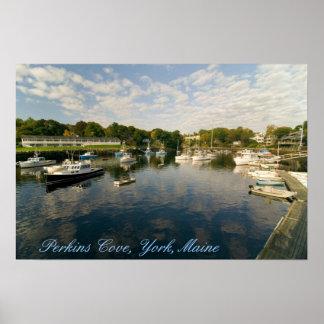 Perkins Cove, York, Maine Print