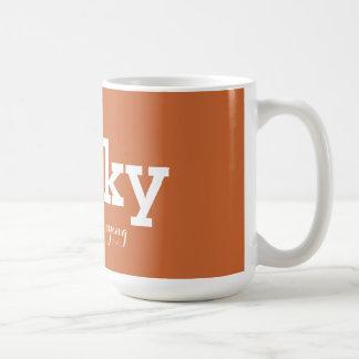 Perky downright annoying coffee mug