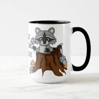 Perky Morning Person coffee mug