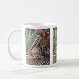 Perky Pelican Basic White Mug