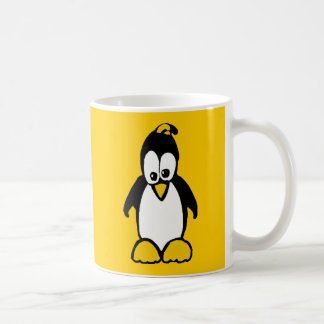 Perky Penguin Coffee Mug