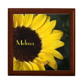 Perky Sunflower Personalized Gift Box
