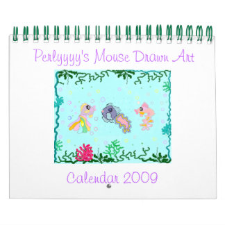 Perlyyyy's Mouse Drawn Art Calendar