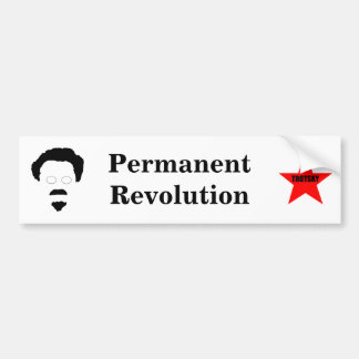 Permanent Revolution Bumper Sticker