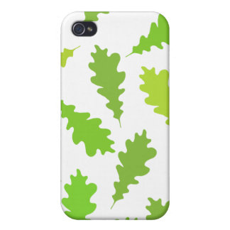 Pern of Green Leaves. Covers For iPhone 4