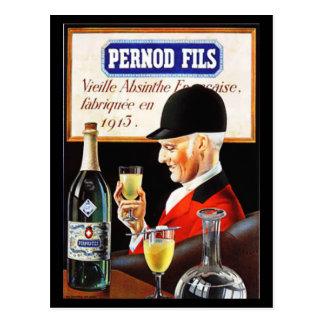 Pernod Fils Postcard