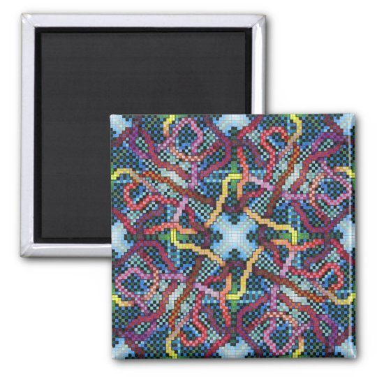 Perpetual Puzzle Kinectric Tile 1 Magnet