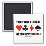 Perpetual Student Of Duplicate Bridge (Card Suits)