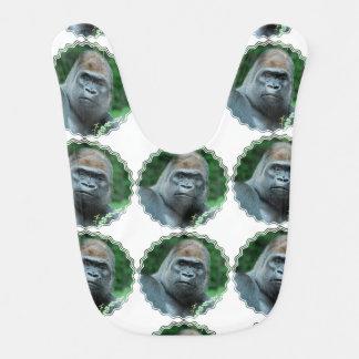Perplexed Gorilla Bib