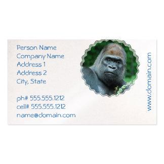 Perplexed Gorilla Pack Of Standard Business Cards