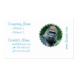 Perplexed Gorilla Pack Of Standard Business Cards