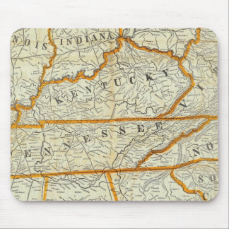 Perrine s New Topographical War Map Mouse Pads