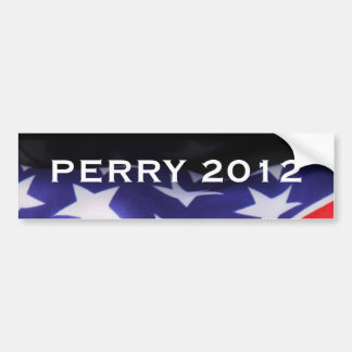 PERRY 2012 Campaign Bumper Sticker