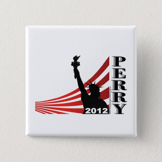 Perry 2012 - President 15 Cm Square Badge