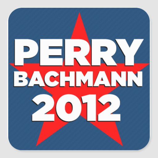Perry Bachmann 2012 Sticker