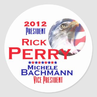 Perry Bachmann 2012 Stickers