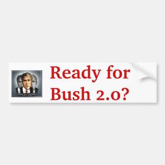 Perry Bush Sticker Bumper Stickers