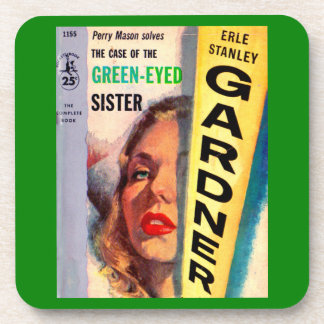 Perry Mason Case of the Green-Eyed Sister Coaster