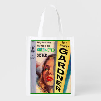 Perry Mason Case of the Green-Eyed Sister Reusable Grocery Bag