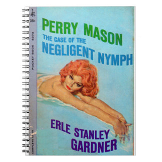 Perry Mason Case of the Negligent Nymph book cover
