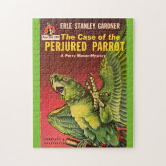 Perry Mason Case of the Perjured Parrot Jigsaw Puzzle