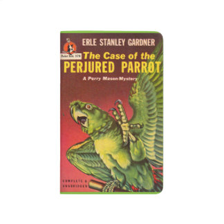 Perry Mason Case of the Perjured Parrot Journals