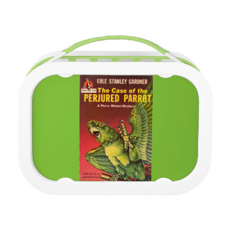 Perry Mason Case of the Perjured Parrot Lunch Box
