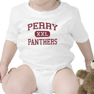 Perry - Panthers - High School - Perry Georgia Baby Bodysuit