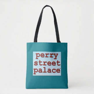 PERRY STREET PALACE™ tote med. turquoise