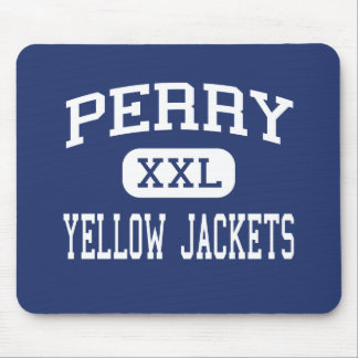 Perry - Yellow Jackets - High - Perry New York Mouse Mat