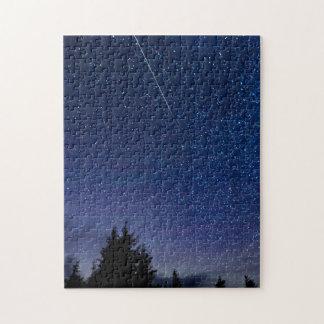 Perseid Meteor Shower Jigsaw Puzzle