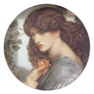 Persephone with Pomegranate - Plate