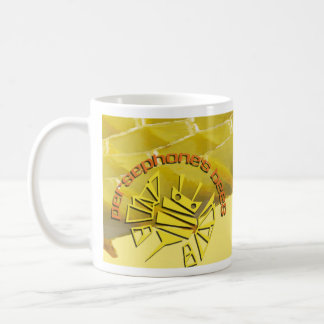 persephones bees basic white mug