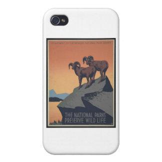 Perserve Wild Life iPhone 4 Case