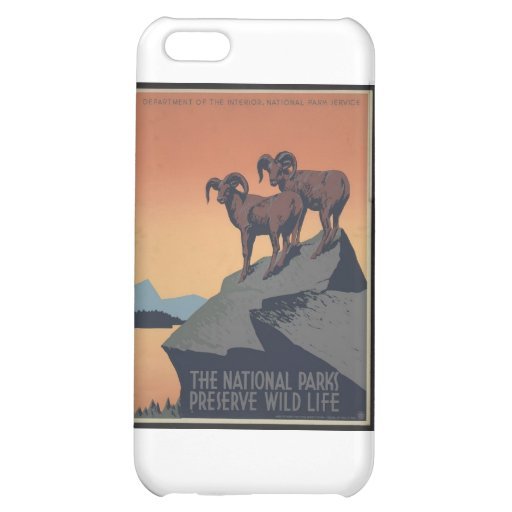 Perserve Wild Life Cover For iPhone 5C