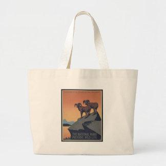 Perserve Wild Life Jumbo Tote Bag