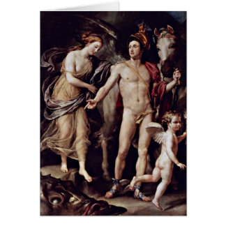 Perseus And Andromeda By Anton Raphael Mengs Greeting Card