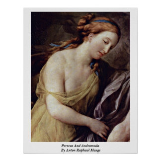 Perseus And Andromeda By Anton Raphael Mengs Poster