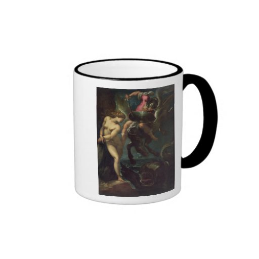 Perseus and Andromeda, c.1610 (oil on canvas) Mug