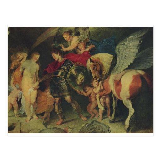 Perseus and Andromeda (C. 1622) Post Card