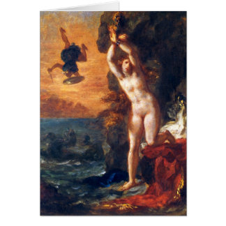 Perseus and Andromeda Greeting Card