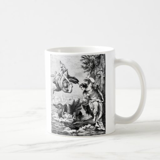 Perseus and Andromeda Coffee Mugs