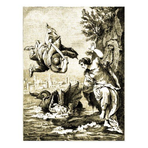 Perseus and Andromeda Post Cards