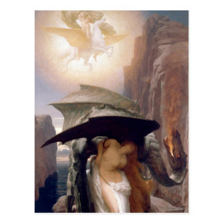 Perseus and Andromeda Postcard
