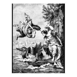 Perseus and Andromeda Post Card