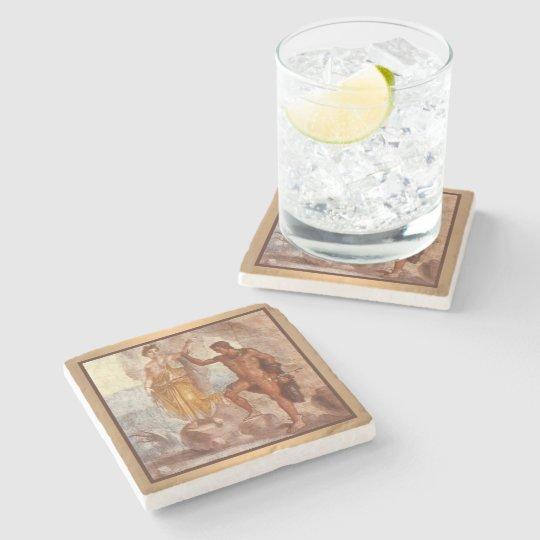 Perseus and Andromeda Stone Coaster
