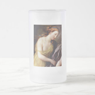 Perseus and Andromedar detail Frosted Glass Mug