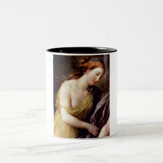 Perseus and Andromedar detail Two-Tone Mug