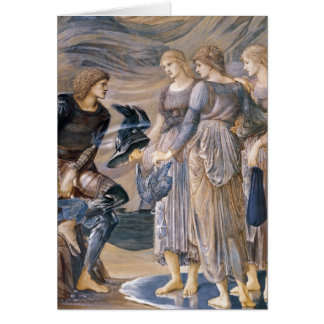 Perseus and the Sea Nymphs Greeting Card